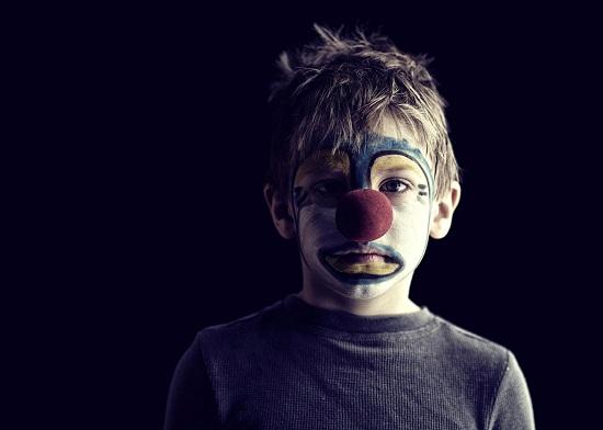 грустный клоун